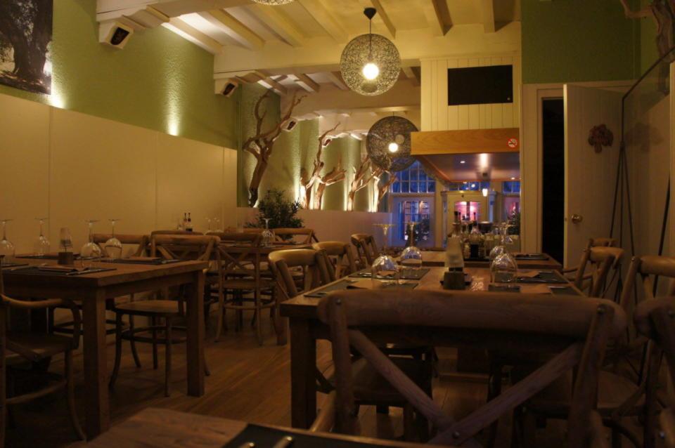 The Olive Tree Restaurant Bruges Brugge Belgium Greek